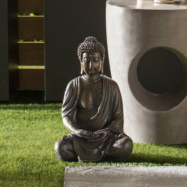 Wayfair Garden Statues: Alpine Buddha Garden Statue & Reviews