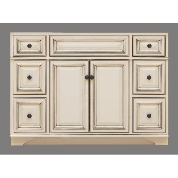 "Sunnywood Kitchen Cabinets: Sunny Wood Sanibel 48"" Bathroom Vanity Base & Reviews"