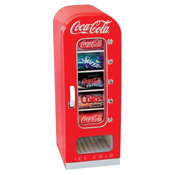 Koolatron Coca Cola 10 Can Vending Refrigerator & Reviews | Wayfair