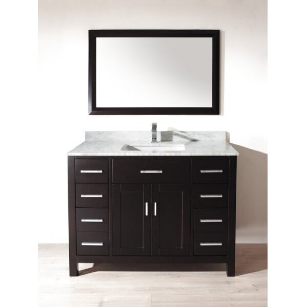bauhaus bath celize 48 single bathroom vanity set with. Black Bedroom Furniture Sets. Home Design Ideas