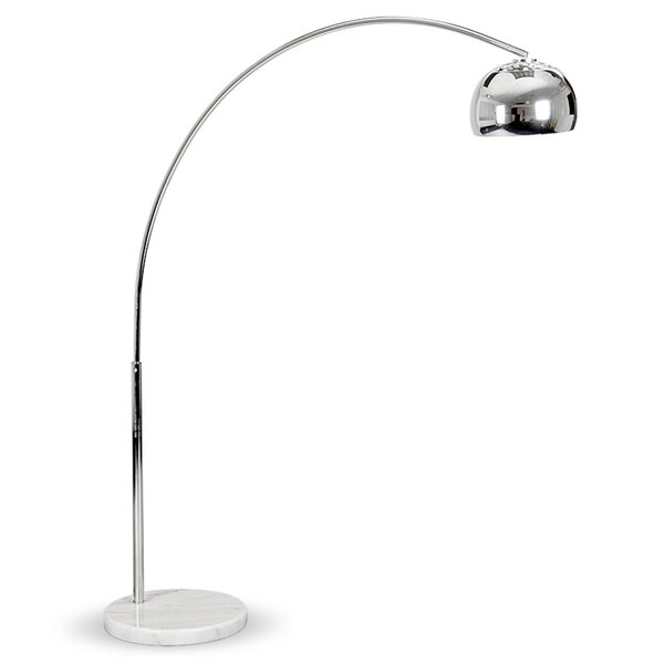 Marble Coffee Table Tesco: MiniSun Curva 140cm Arched Floor Lamp & Reviews