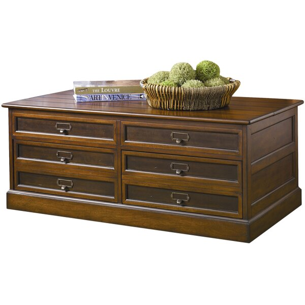 Hammary Mercantile Trunk Coffee Table with Lift-Top & Reviews | Wayfair - Hammary Mercantile Trunk Coffee Table With Lift-Top & Reviews
