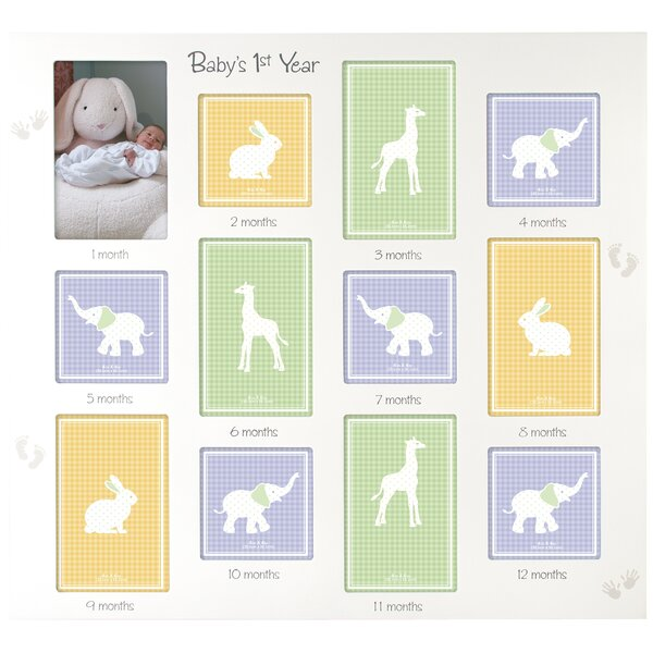 new baby picture frames youll love wayfair