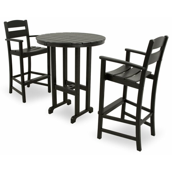 Ivy Terrace Classics 3 Piece Bar Set Amp Reviews Wayfair