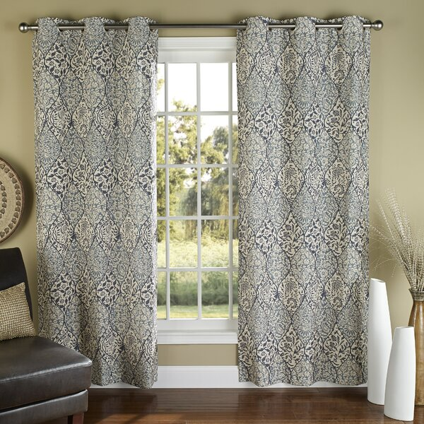 Curtains Ideas batik curtain panels : m.style Istanbul Poly Duck Cloth Grommet Curtain Panels & Reviews ...