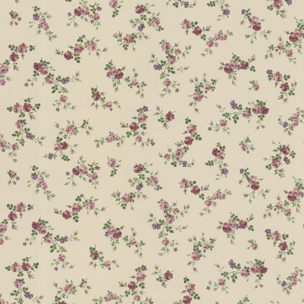 Brewster home fashions dollhouse fiona sprigs 33 39 x 20 5 - Papel decorativo para pared ...