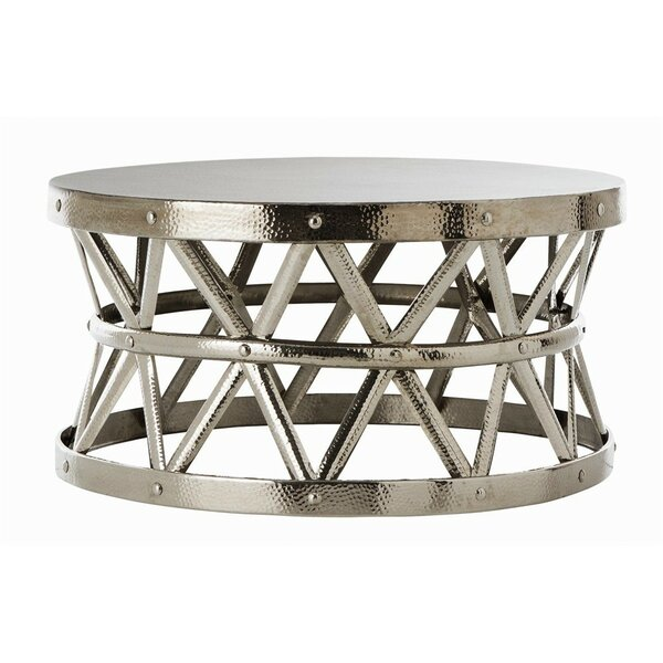 QUICK VIEW. Hammered Coffee Table - Metal Coffee Tables You'll Love Wayfair