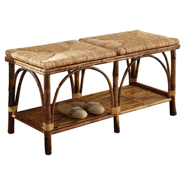 Chic Bedroom Benches With Storage shabby chic rustic french country decor myshabbychicdecor Kenian Coastal Chic Wood Storage Bedroom Bench Reviews Wayfair