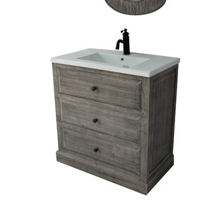 Bellevue 30″ Single Sink Bathroom Vanity Set