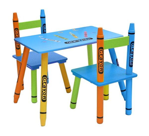 Roomie Kidz 3 Tlg Tisch Und Stuhl Set Roomie Kidz