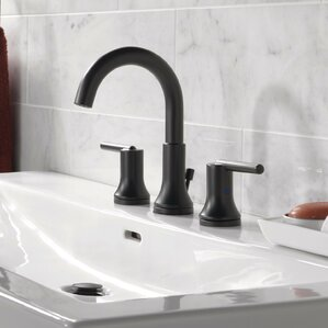 Delightful Trinsic® Bathroom Widespread Double Handle Bathroom Faucet With Drain  Assembly And Diamond Seal Technology