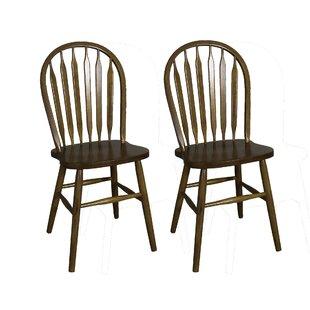 Acadian Arrow Back Windsor Side Chair (Set of 2)  sc 1 st  AllModern & Modern u0026 Contemporary Low Back Windsor Dining Chair | AllModern