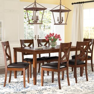 Merveilleux Nadine 7 Piece Breakfast Nook Dining Set