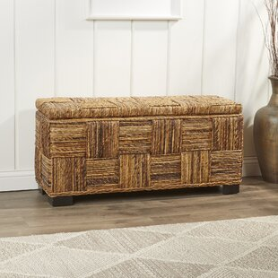 Colebrook Woven Storage Bench & Breakfast Nook Storage Bench | Wayfair