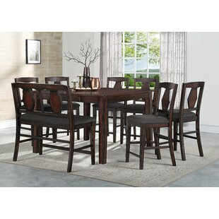 Canady 8 Piece Pub Table Set