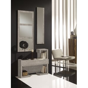 Delancey 1 Drawer Dresser with Mirror by Brayden Studio