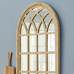 Window Wall Mirror arch & crowned top mirrors you'll love | wayfair