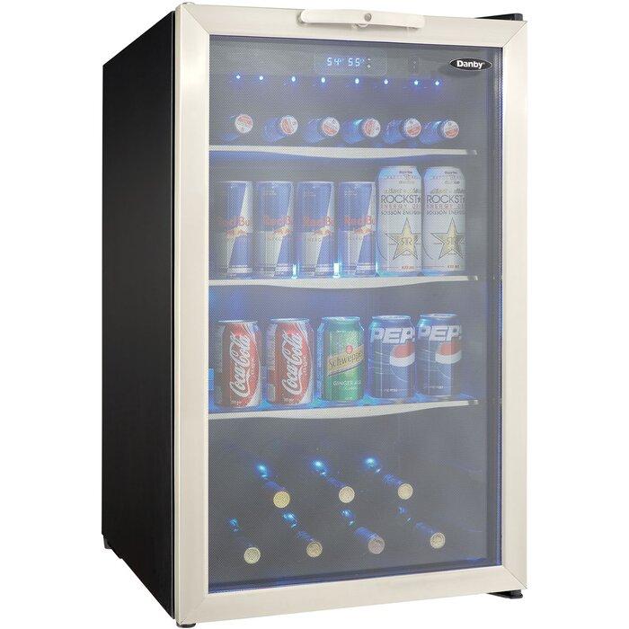 124 Can Beverage Refrigerator