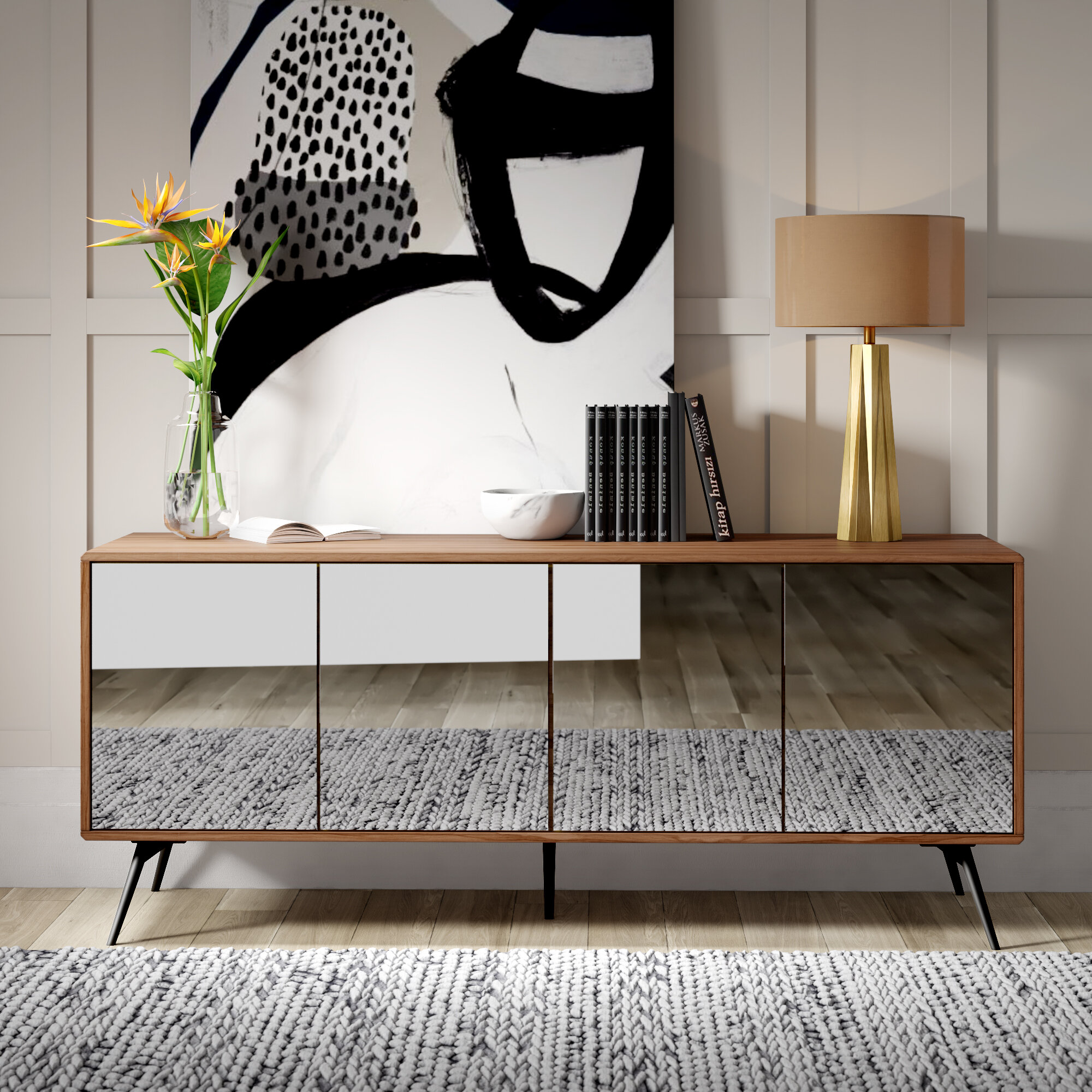 Mulkey sideboard reviews allmodern