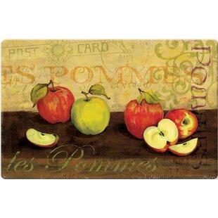 Beau Les Pommas Apple Kitchen Mat