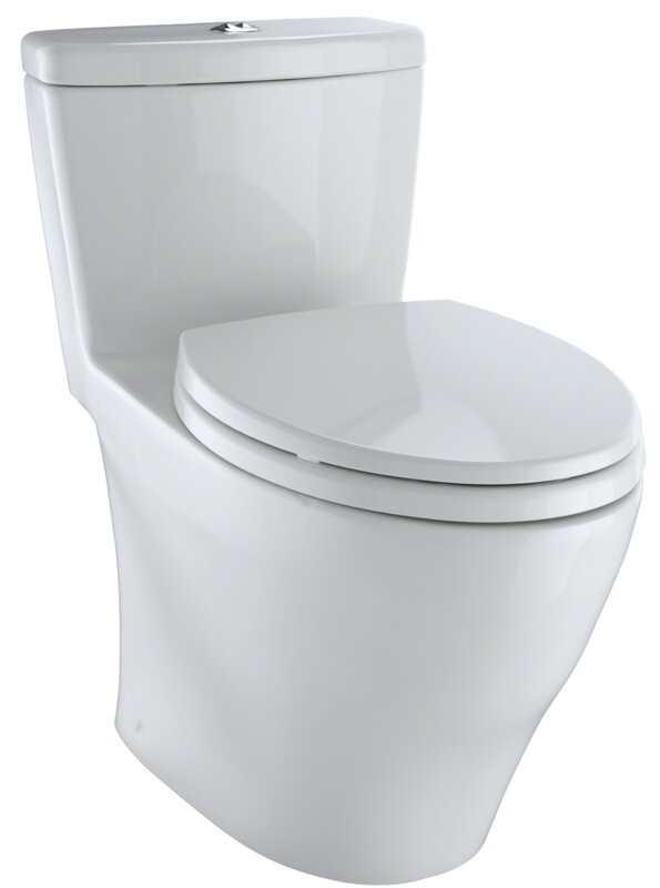 AquiaR 16 GPF Elongated One Piece Toilet