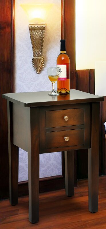 Casual Elements Jamison End Table Amp Reviews Wayfair