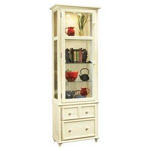 ColorTime Vista Lighted Curio Cabinet