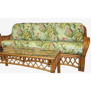 Montego Bay'' Sofa by Spice Islands Wicker