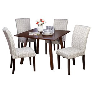 Laurel 5 Piece Dining Set by TMS
