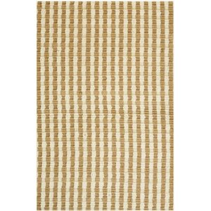 Natural Jute Yellow Area Rug