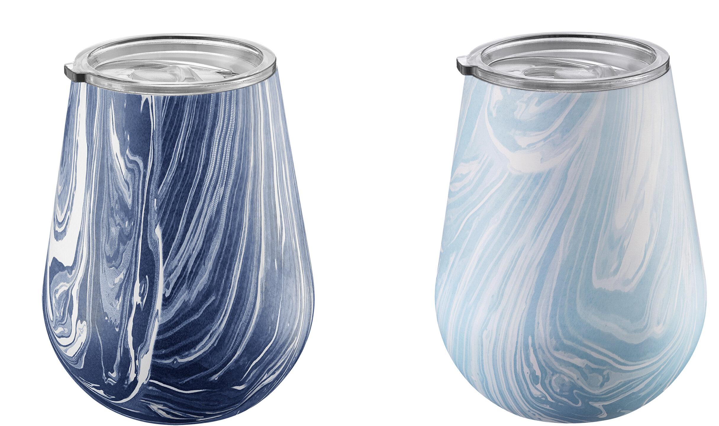 77b0d6eed45 Wrought Studio Raiford 14 oz. Stainless Steel Stemless Wine Glass ...