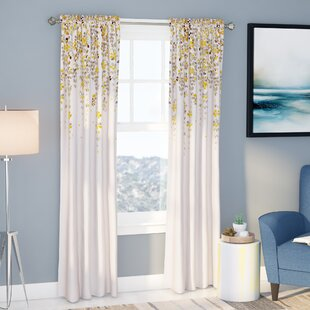 pattern home garden lined nomad blackout lurline curtain winow drapes subcat curated printed curtains floral the overstock less for