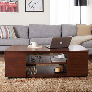 Anselmo Coffee Table  by Hokku Designs Cocktail Tables You ll Love Wayfair