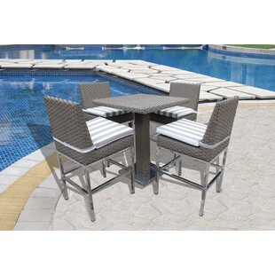 Leonore 5 Piece Pub Table Set
