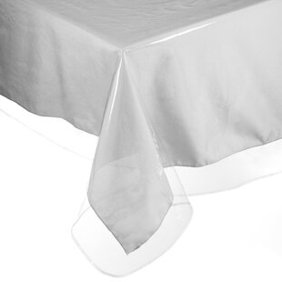 Square Vinyl Tablecloth Protector