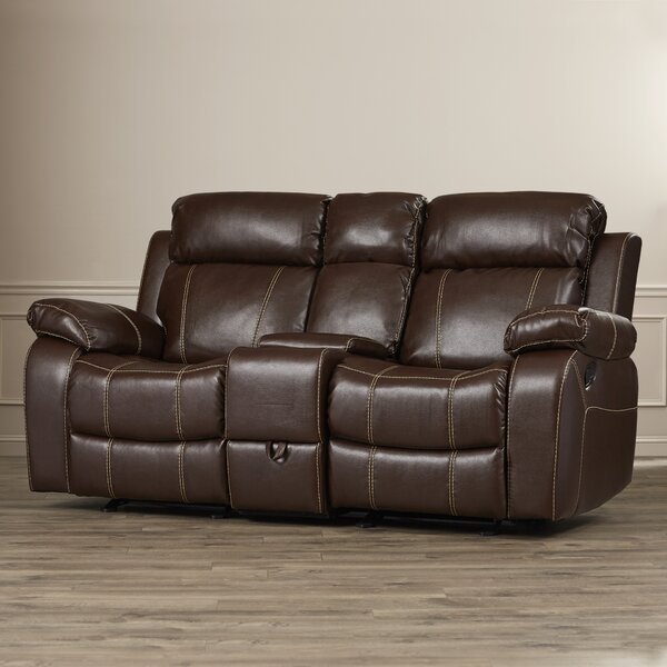 Darby Home Co Chestnut Double Gliding Reclining Loveseat Reviews Wayfair