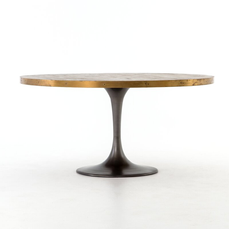 Sommer Iron Base Dining Table