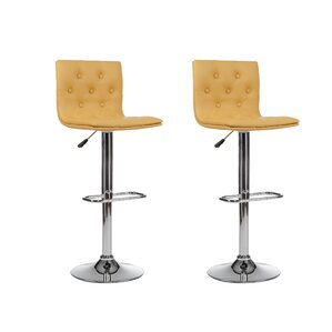 Adjustable Height Swivel Bar Stool (Se..