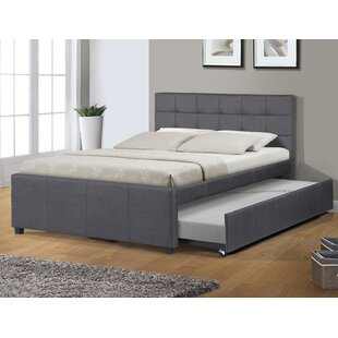 trundle wood lily dp size bed with com amazon solid max full