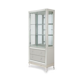 Hollywood Loft Lighted China Cabinet