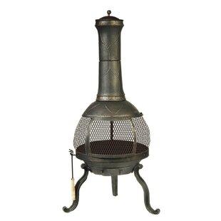 Cast Iron Wood Burning Chiminea