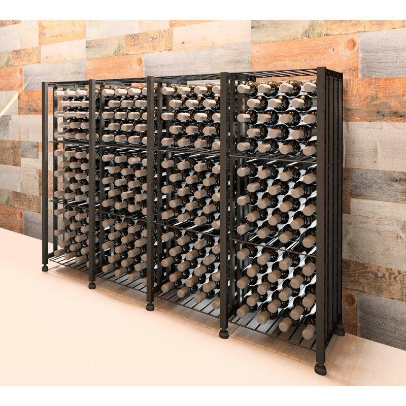 79829c9917 VintageView Bin 192 Bottle Floor Wine Rack | Wayfair