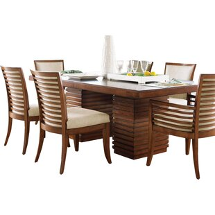 Ordinaire Ocean Club Peninsula Dining Table. By Tommy Bahama Home