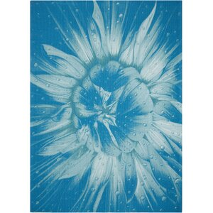 Adamov Blue Indoor/Outdoor Area Rug