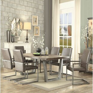 Bricelyn 7 Pieces Dining Set