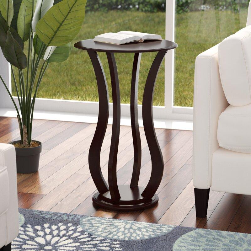 Beau Zahara Pedestal Plant Stand