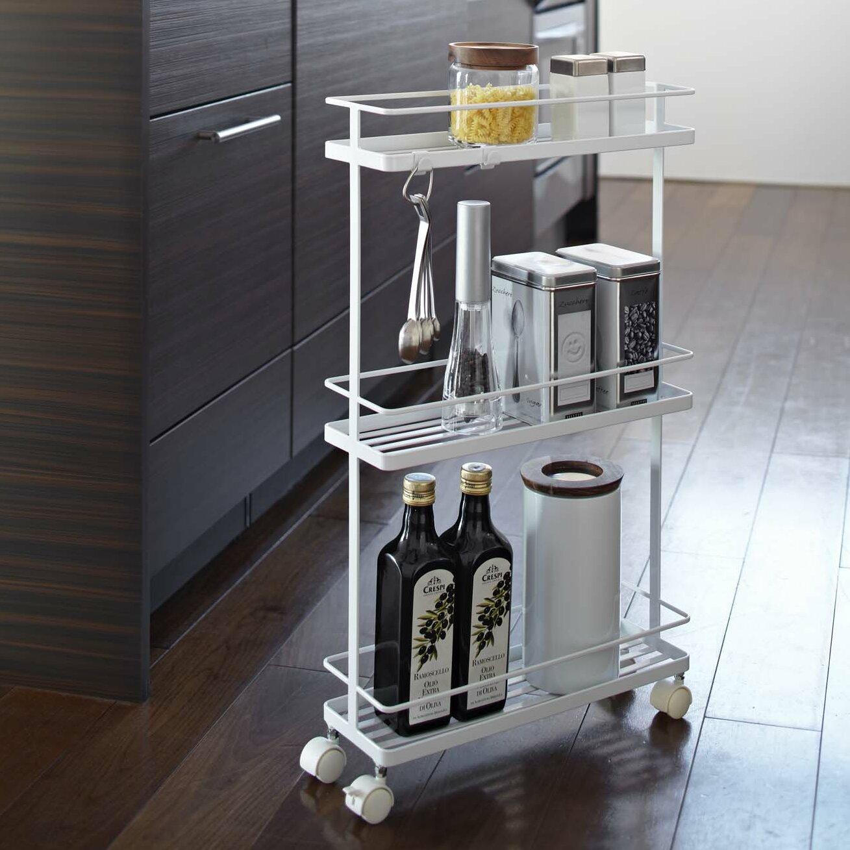 Kitchen cart metal - Tower Kitchen Cart
