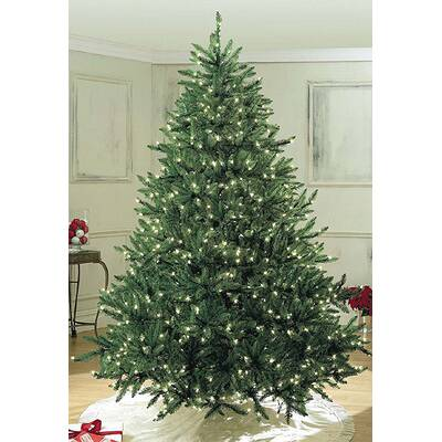 6' Green Pine Trees Artificial Christmas Tree with 400 LED White - The Holiday Aisle Fraser 6' Green Artificial Christmas Tree With 800