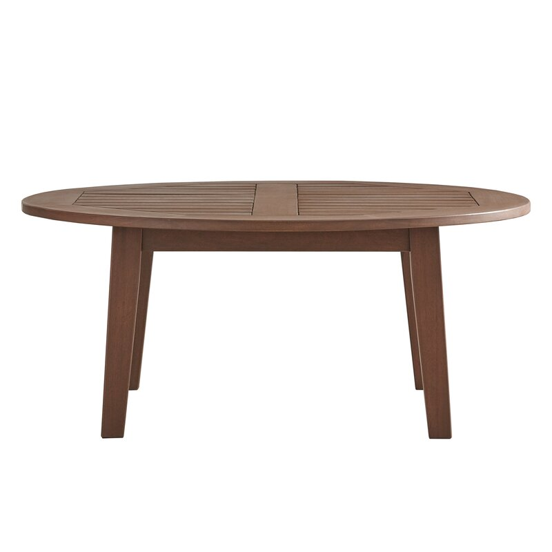three posts brook hollow round coffee table reviews. Black Bedroom Furniture Sets. Home Design Ideas