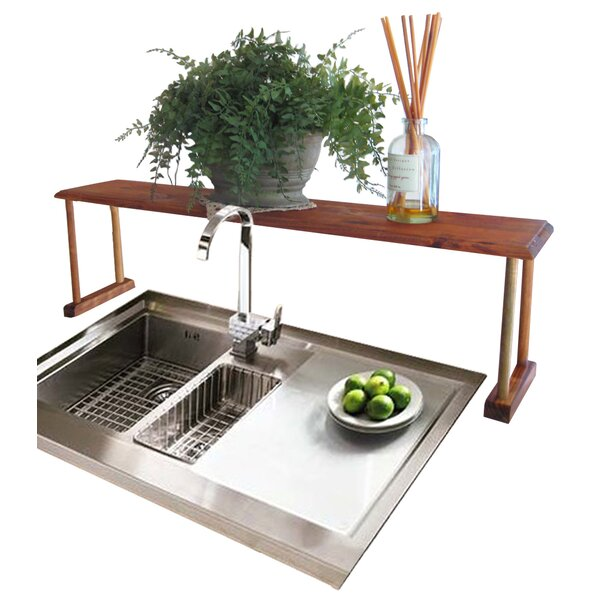 Kitchen Sink Shelf | Home Basics Sunbeam Over Sink Shelf Reviews Wayfair